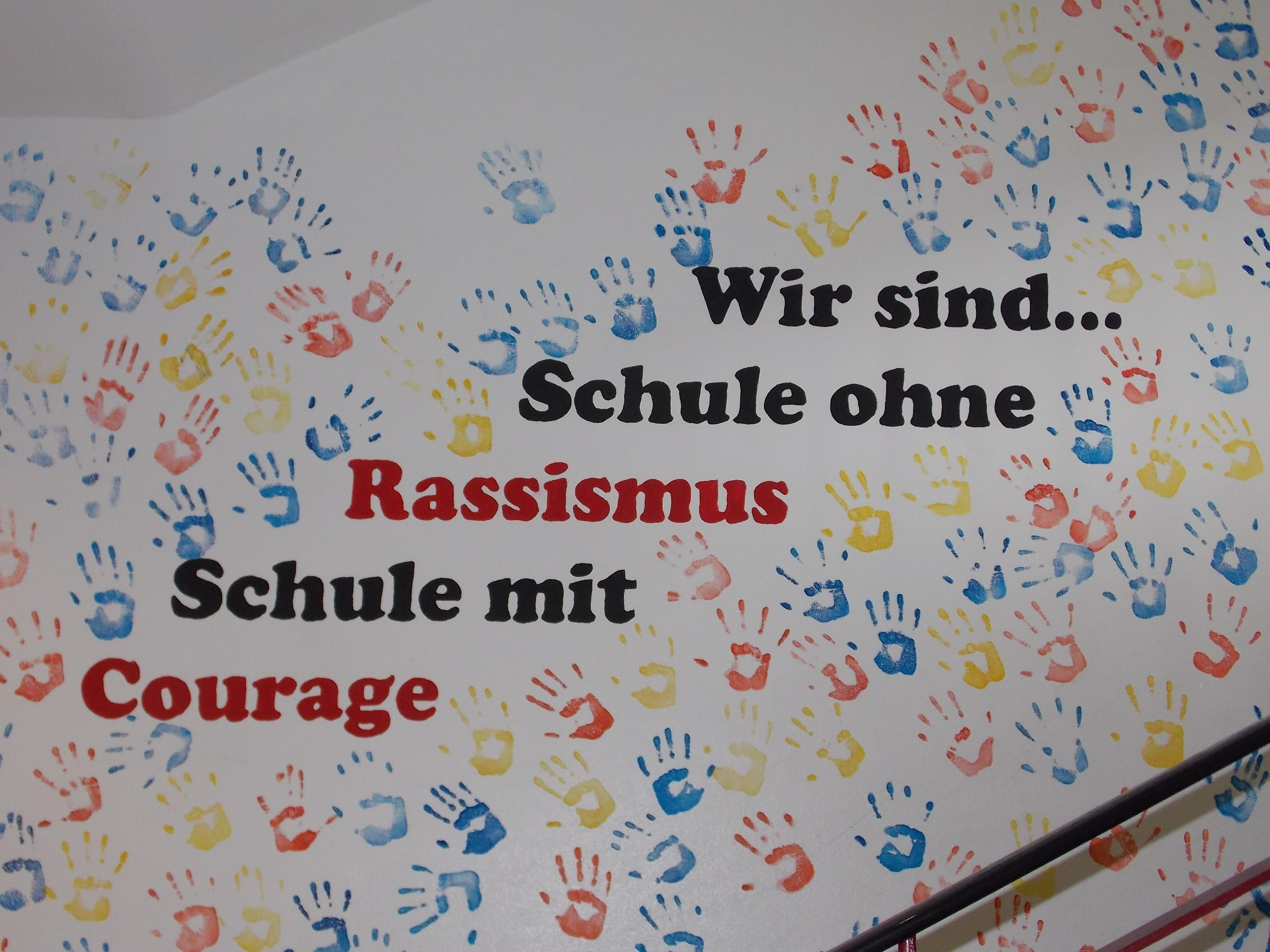 Wir sind... Schule ohne Rassismus Schule mit Courage