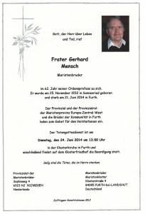 FraterGerhardMensch